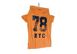 Canes Venatici Polo All Season Tshirt for Dogs, 22 inch, orange nyc