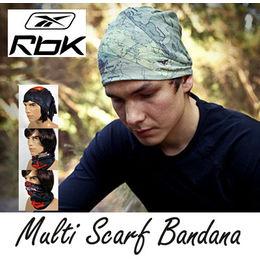 Reebok Genuine Multipurpose 100% Cotton Bandana Scarf