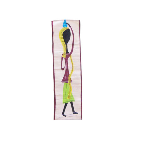 OHA008: Handmade wall hanging designs made applique on clothes