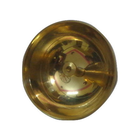 OHD039: Brass Aarti Puja Diya Oil Lamp.