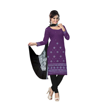 OSS090: Salwar set and Dupatta from India