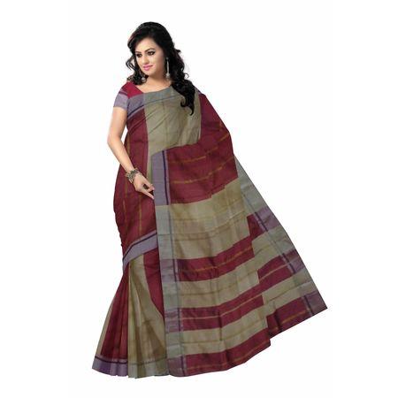 OSSWB004: Bengal famous baha design silk saree
