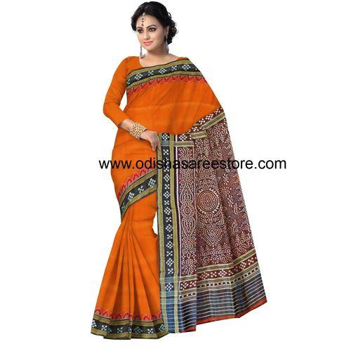 OSS5123: Odisha handloom silk ikat sari