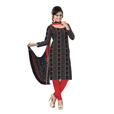 OSS214: Sambalpuri Handmade cotton fabrics dress for Salwar Kameez