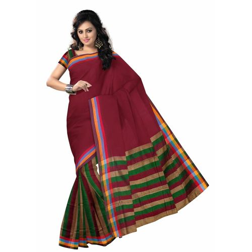 OSSWB006: Baha cotton saree online shopping.