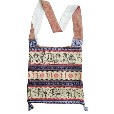OSS601: Tassar Handloom Bag