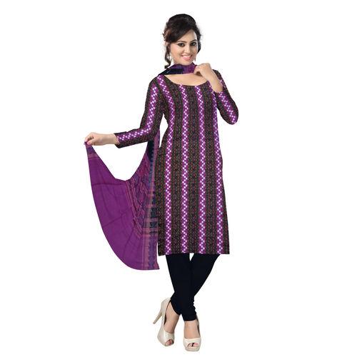 OSS227: Odisha Bargarh Style Sambalpuri Cotton 3 Piece Salwar Suit