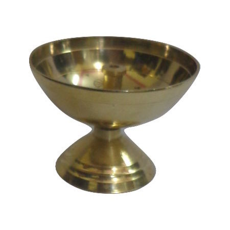 OHD039: Brass Aarti Puja Diya Oil Lamp.
