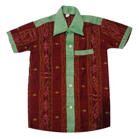 OSS8412: Handloom boys shirt
