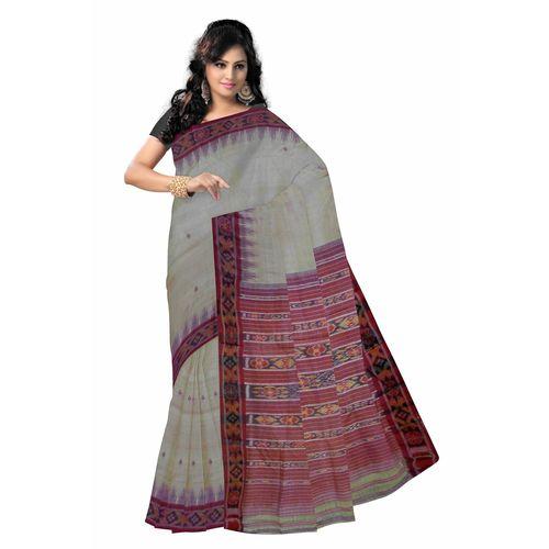 OSS001: Tussar Handwoven silk saree