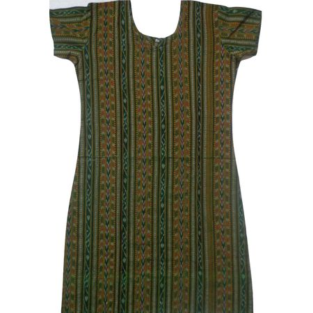 OSS8473: Handloom Cotton Kurti for Baby girls