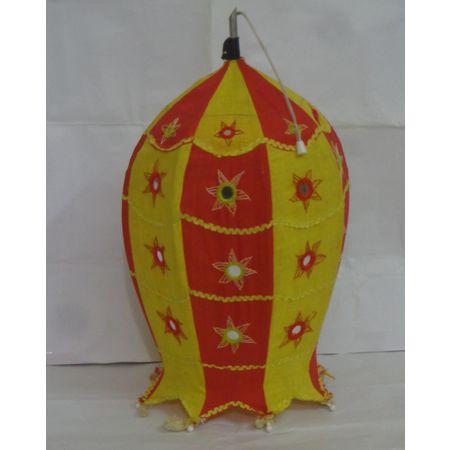 OHA061: Fish lamp shade of odisha Pipili