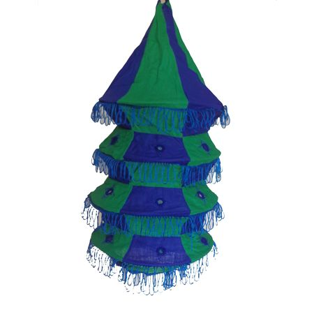 OHA019: Pipili Applique lamp shade.