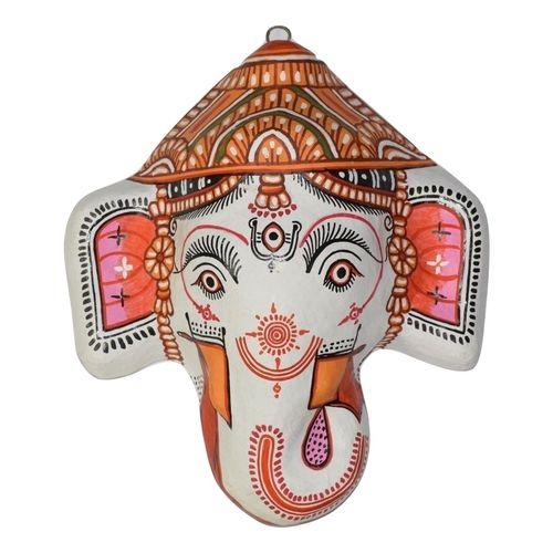 OHP074: Paper mache handicraft of Ganesh.