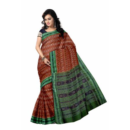 OSS5135: Light brown handwoven Silk sarees for festival wear