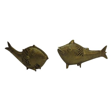 OHD019: Dhokra Fish for decorating near aquirium in home and office