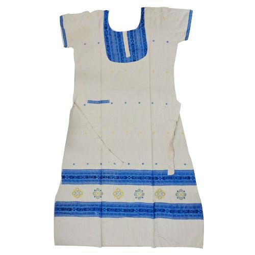 OSS3585: Women s Nightwear made in handloom cotton fabric