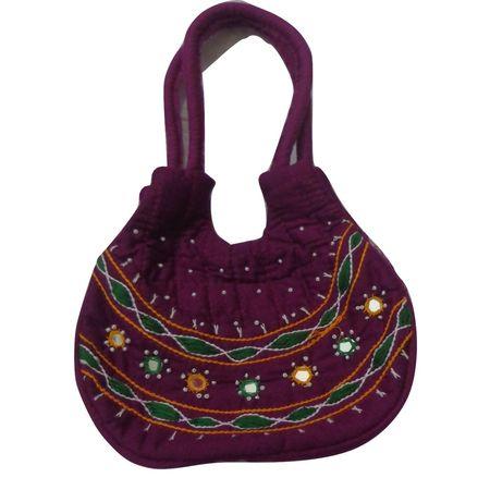 OHA064: Odisha Pipili Handicraft Hand Bags.