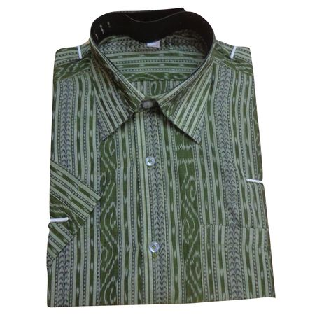 OSS055: Pure Cotton handloom Shirt| Buy from USA, Canada, France, UK, India