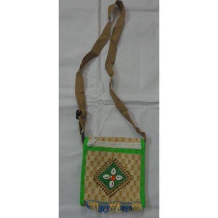 OHA062: Ladies jute purse