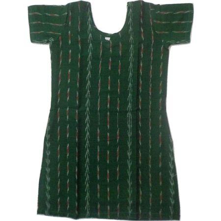 OSS8468: Handloom Cotton Kurti for girl