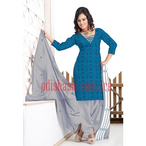 OSS229: Handloom cotton formal wear dress set from Odisha
