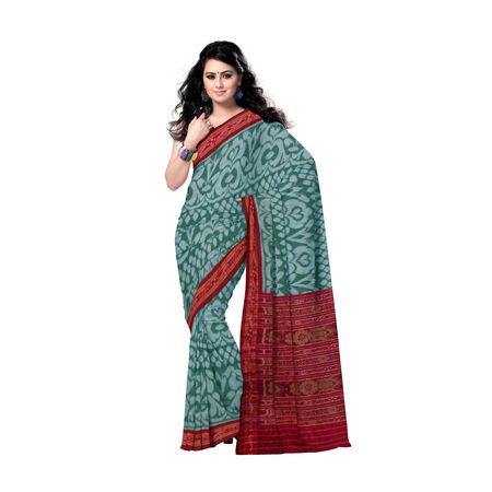 OSS183: Alpana design handloom cotton sarees of odisha., 42