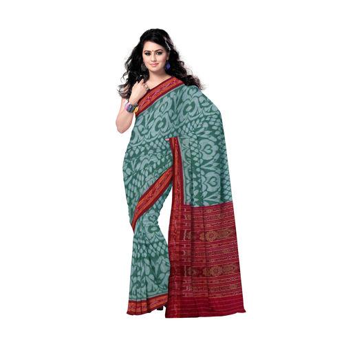 OSS183: Flower design handloom cotton sarees of odisha., 42