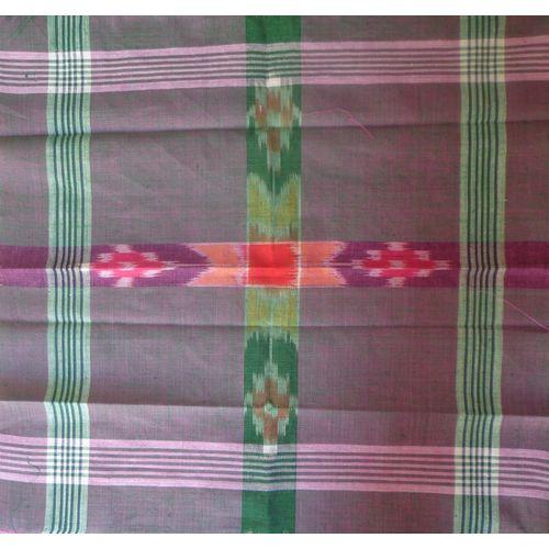 OSS499: Sambalpuri Cotton Handkerchief.
