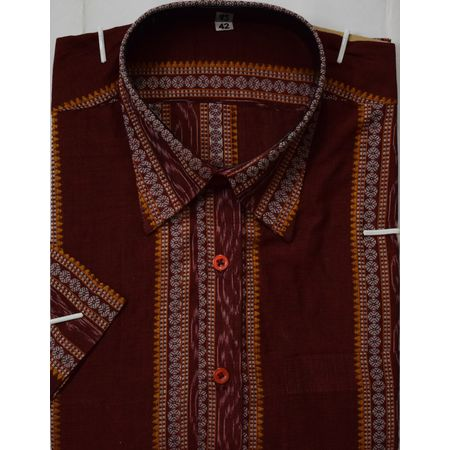 OSS8026: New collection handwoven readymade shirt for Men