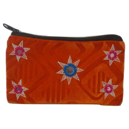 OHA066: Pipili Applique Handcrafted Purse.