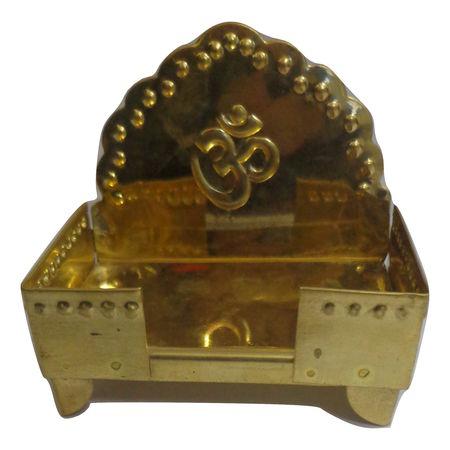OHD041: Brass Metal Puja Chowki.