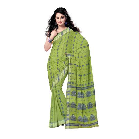 OSSWB097: Bengali Baluchari cotton sarees online.