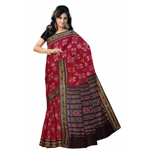 OSS7450: Cotton new design handloom work sari from nuapatna