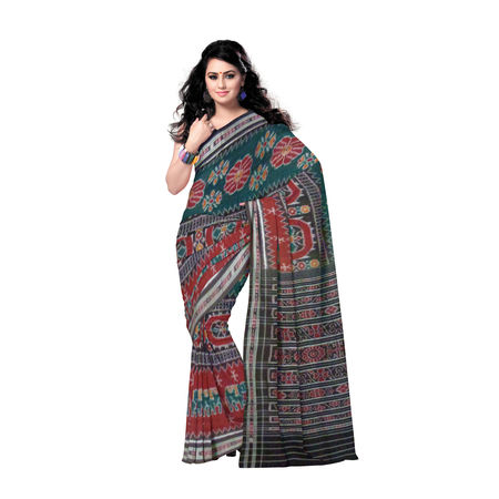 OSS149: Cotton Designer handloom Saree
