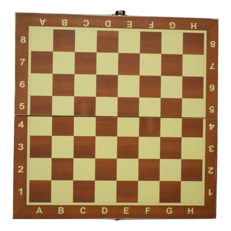 Handmade Folding Wooden Chess Game Board Set Of 8''* 8'' AJ001408