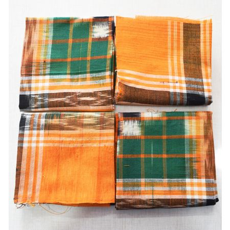 Handloom Cotton Handkerchief of Odisha, Sambalpur AJ001781