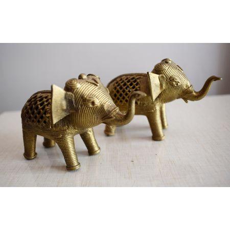 OHD015: Indian handmade handicrafts odisha brass work Dhokra shop