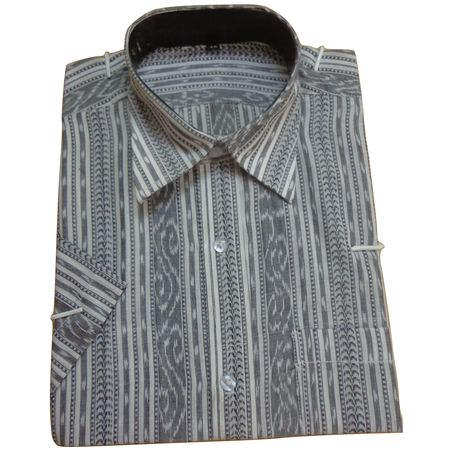 OSS8020: Shirt made in bargarh fabric
