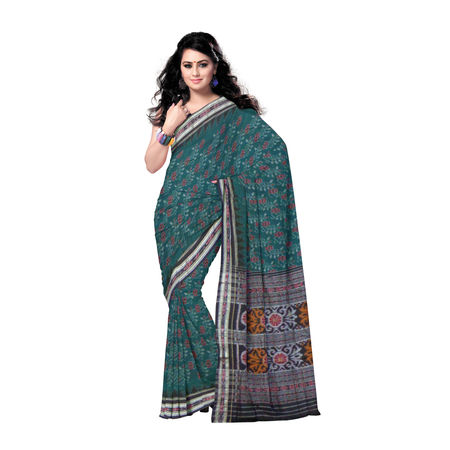 OSS265: Computer Design Cotton Saree from Odisha State