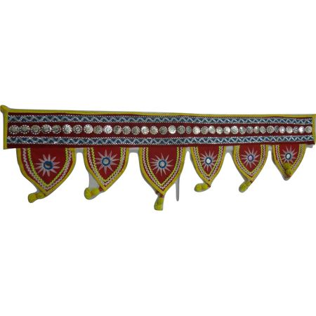 OHA069: Pipili Applique Handcrafted Torana for Doors.