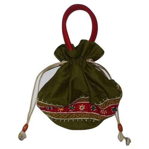 Handmade Bridal Potli Bag AJ001257