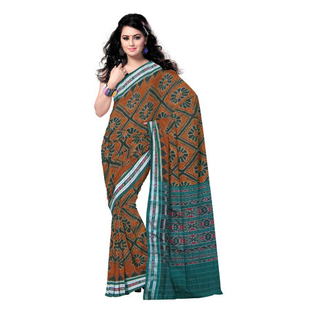 OSS181: Nuapatna Cotton handloom Saree, 0