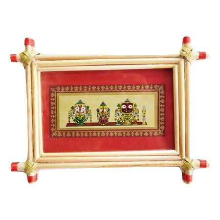 Patachitra Frame Painting Of Lord Jagannath Pipili, Odisha AJ001684