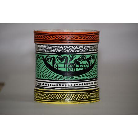 OHP086: Paper mache handicraft of Pen Stand.