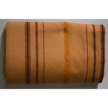 Handwoven Sambalpuri Sandalwood with Maroon Cotton Joda AJ002047
