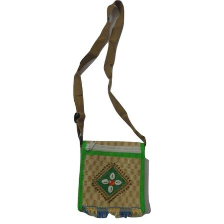 OHA062: Ladies jute purse