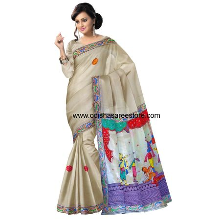 OSS20054: Patachitra Saree for Modern Women