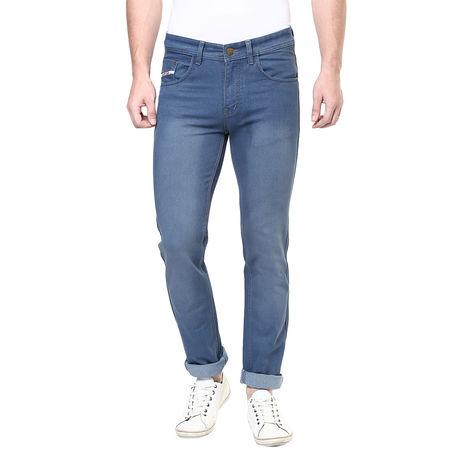 Stylox Grey Slim fit Denim Jeans, 28