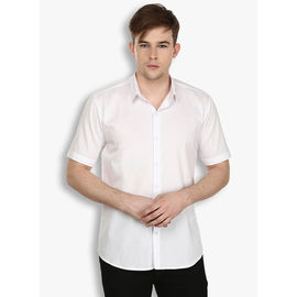 Stylox White Half sleeve Casual Cotton Shirt(SHT030), 46